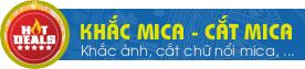 Cắt khắc trên Mica tại TpHCM