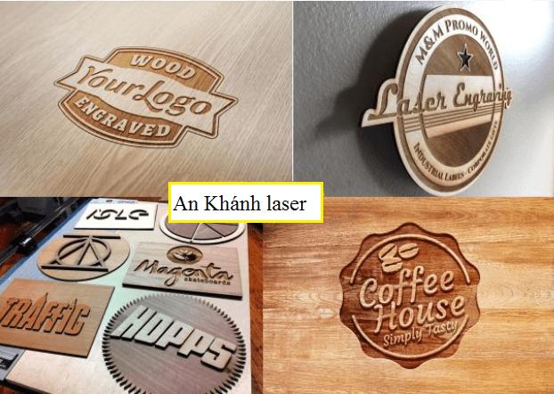 Khắc laser trên gỗ theo đúng yêu cầu