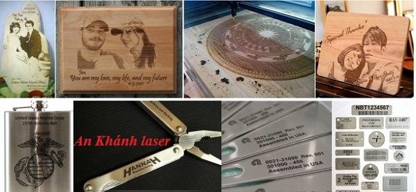Quà tặng khắc laser tại An Khánh