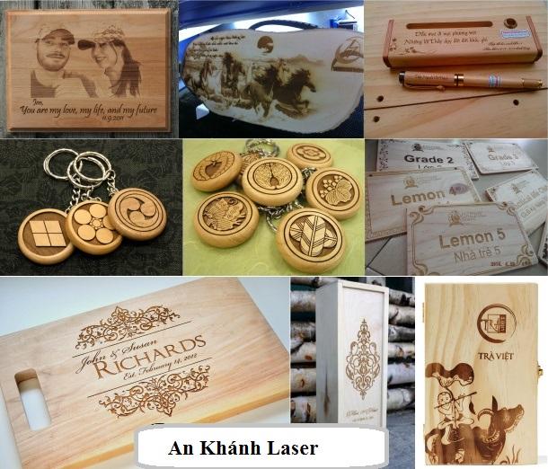 Dịch vụ khắc laser trên gỗ