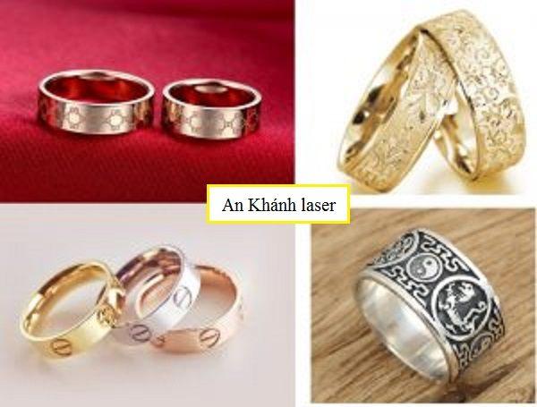 Nhẫn khắc họa tiết