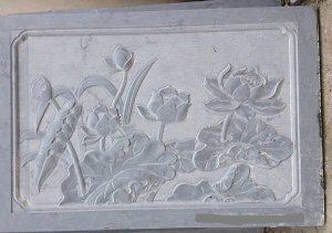 Mẫu khắc trên đá