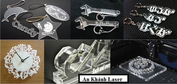 Cắt laser trên mica