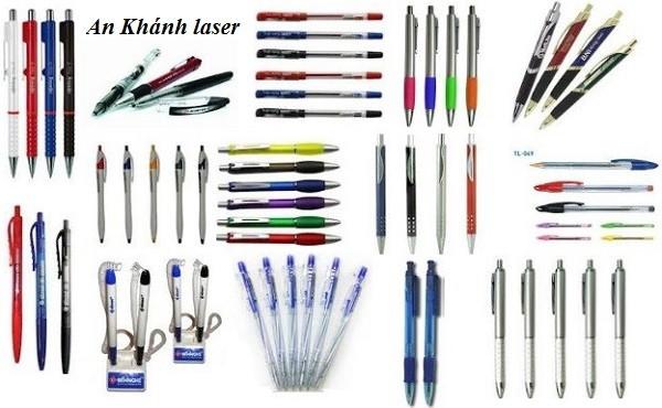Những mẫu bút bi dùng để khắc laser