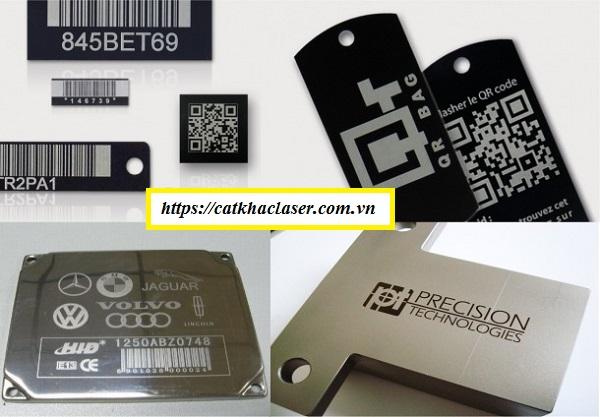 Dịch vụ khắc laser mã vạch theo yêu cầu