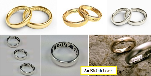 Mẫu nhẫn khắc tên đẹp