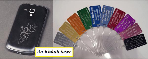 Khắc laser trên nhựa tại Cầu Giấy - Hà Nội