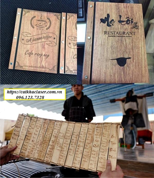 Khắc chữ thư pháp trên gỗ