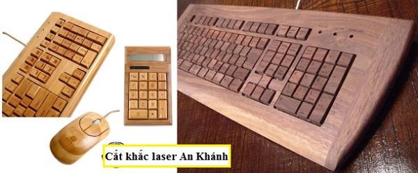Mẫu khắc chuột , bàn phím đẹp