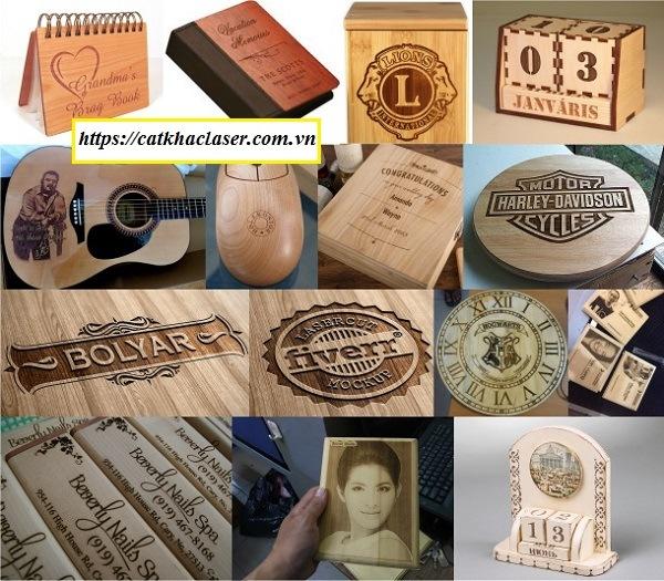 Các sản phẩm khắc chữ lên quà tặng