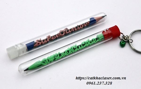 Khắc bút chì đơn giản tại nhà