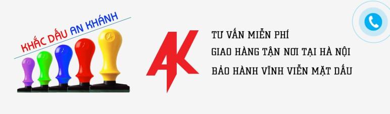 Khắc dấu giá rẻ tại An Khánh lấy sau 5 phút