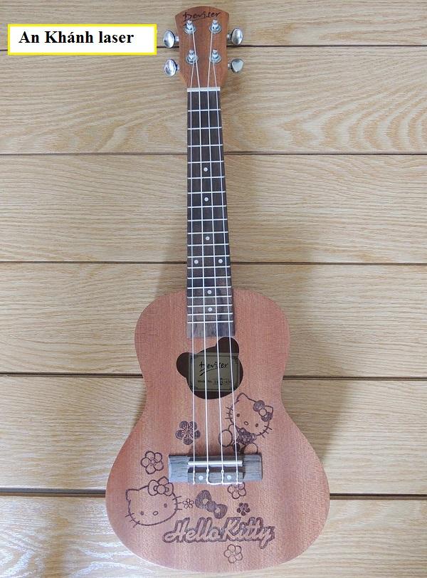 Khắc hình, họa tiết lên đàn guitar