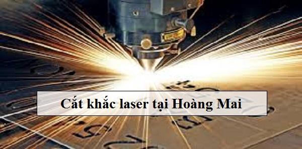 Cắt khắc laser tại Hoàng Mai giá tốt