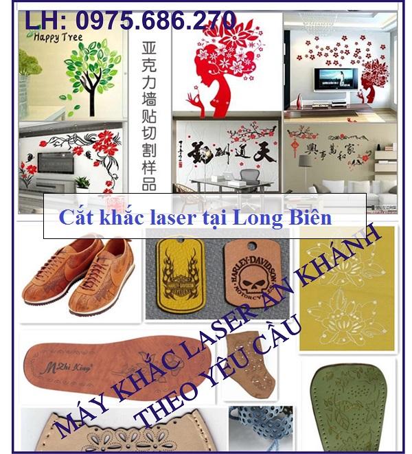 Đơn vị nào chuyên cắt khắc laser tại Long Biên?
