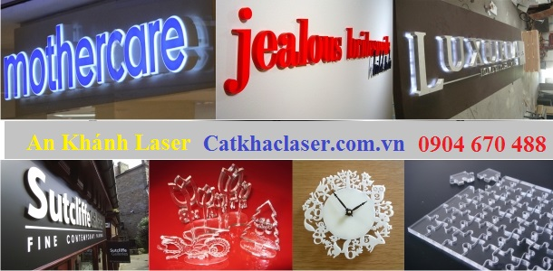 Dịch vụ cắt khắc laser tại Hoàn Kiếm