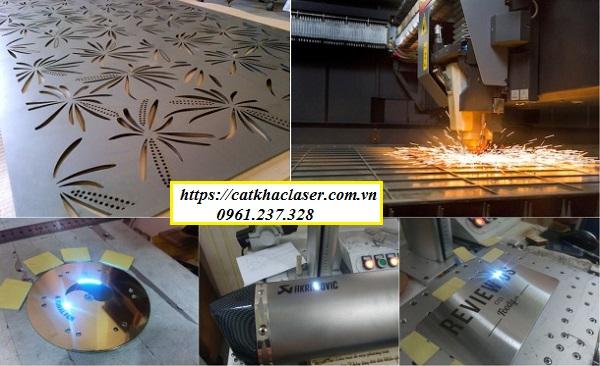 Công nghệ khắc laser trên kim loại