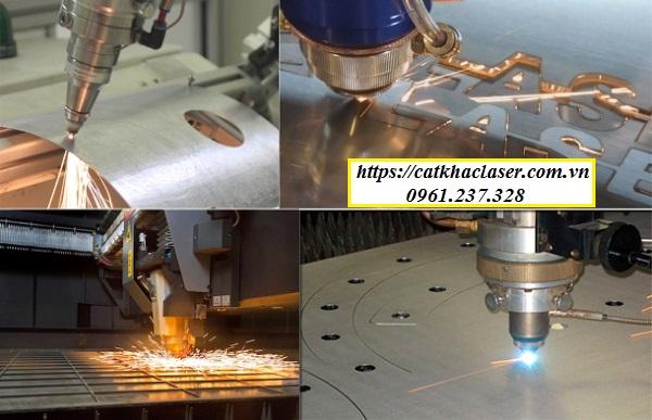 Khắc laser trên kim loại bằng máy laser và CNC