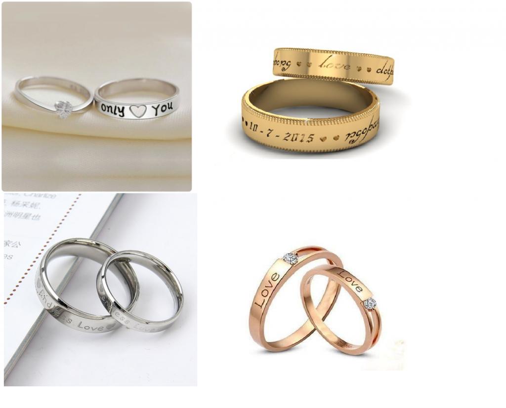 7 gợi ý khắc tên lên nhẫn vô cùng ý nghĩa