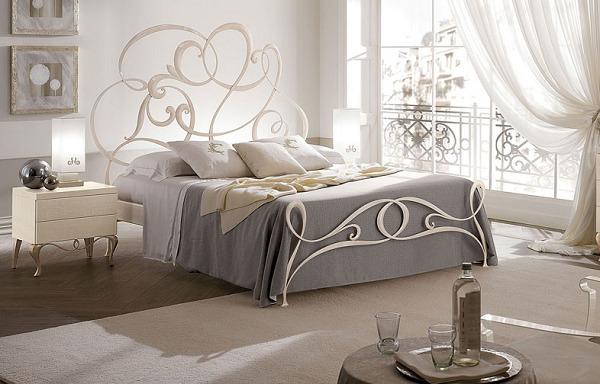 Mẫu giường thiết kế phong cách của Châu Âu