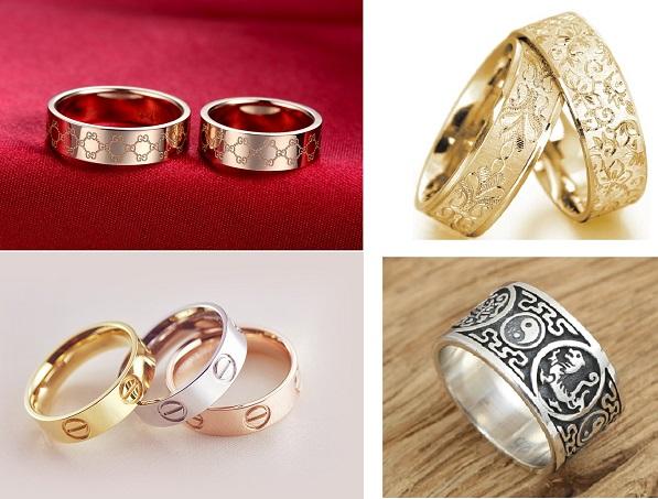 Nhẫn khắc tên – xu hướng nhẫn cưới không bao giờ 'lỗi thời'