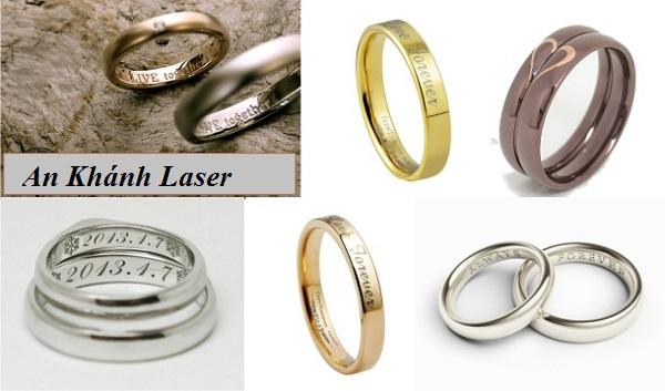 Nhẫn khắc tên bằng công nghệ laser có đẹp không?