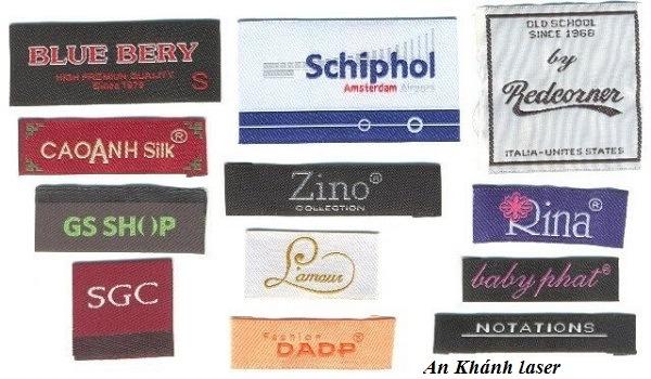 Những loại tem nhãn mác quần áo
