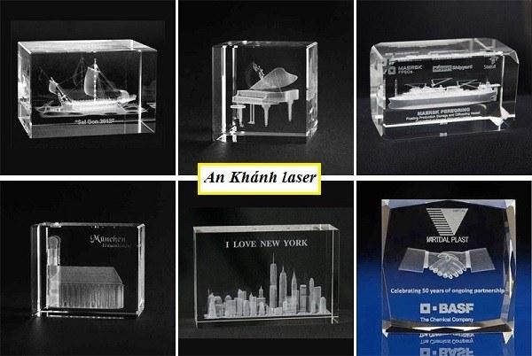 Quà tặng pha lê khắc laser ý nghĩa