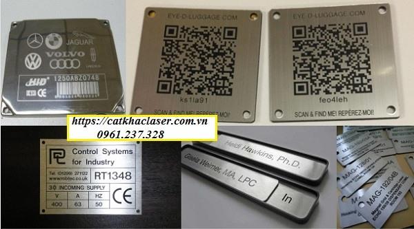 Tổng hợp những loại tem nhãn mác kim loại