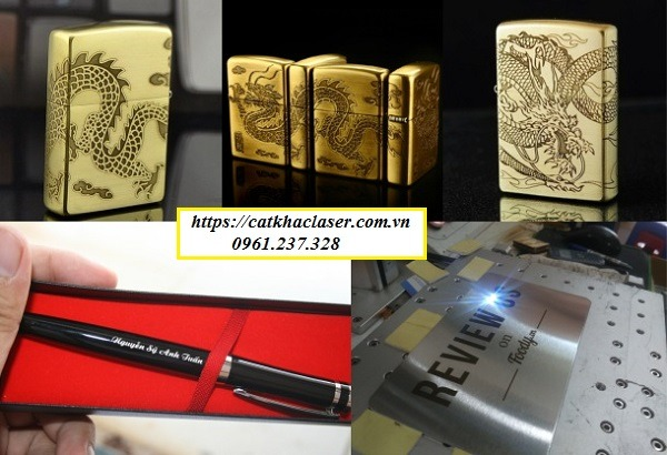 Ứng dụng tia laser trong sản xuất quà tặng